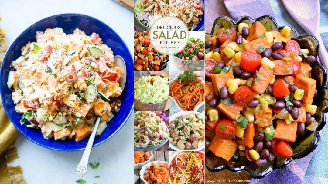 Salad Recipes – Easy Restaurant Style Salads